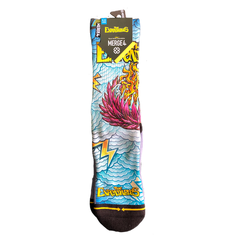 Lotus x Merge4 Socks