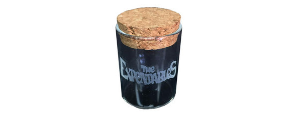 The Expendables Glass Jar