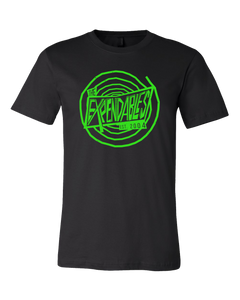 Black Dizzy Tee - Glows in the Dark