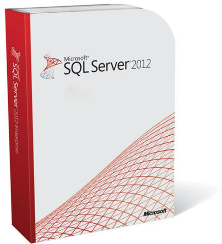 Microsoft SQL Server 2012 Standard Edition with 10 CALs - Open License - TechSupplyShop.com