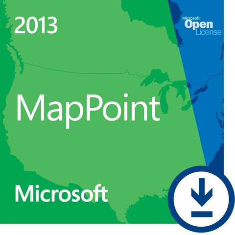 Microsoft Mappoint 2013 Retail License | Microsoft