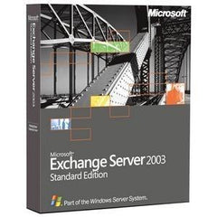Microsoft Exchange Server 2003 5 - Client Retail Box - TechSupplyShop.com