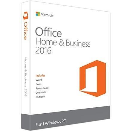 Microsoft Office 2016 Home and Business for 1 PC