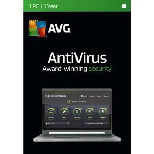 Avg Technologies Usa, Inc Avg Antivirus, 1 User 1 Year - TechSupplyShop.com