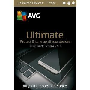 Avg Technologies Usa, Inc Avg Ultimate, Unlimited Users 1 Year - TechSupplyShop.com