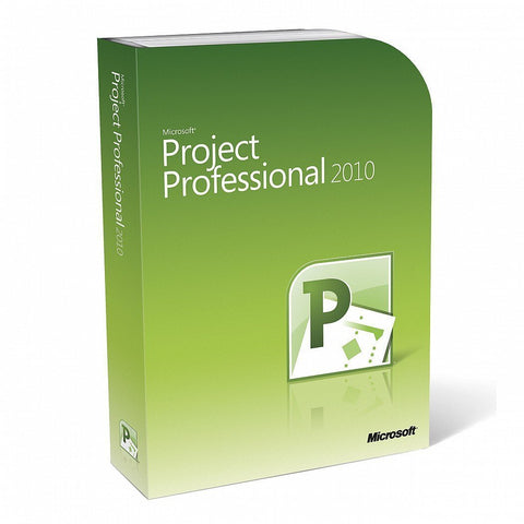 Microsoft Project Professional 2010 Retail Box | Microsoft