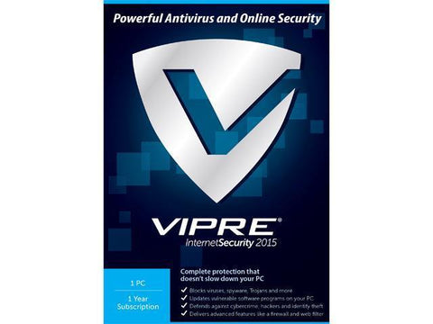 Threattrack Security Vipre Internet Security 2015 10pc 1yresd | ThreatTrackSecurity