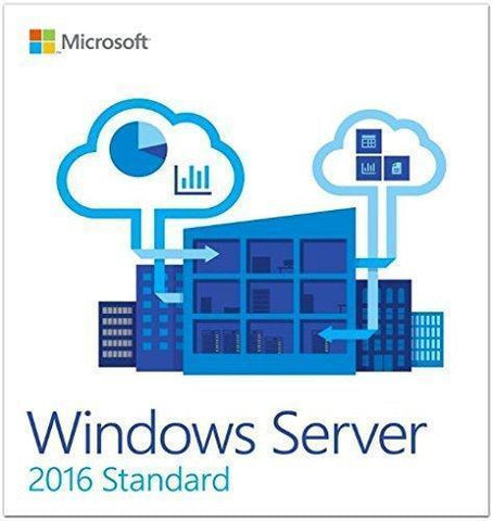 Windows Server 2016 Standard OEI - 24 Core Instant License
