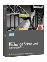 Microsoft Exchange Server 2003 Enterprise 25 CAL - TechSupplyShop.com