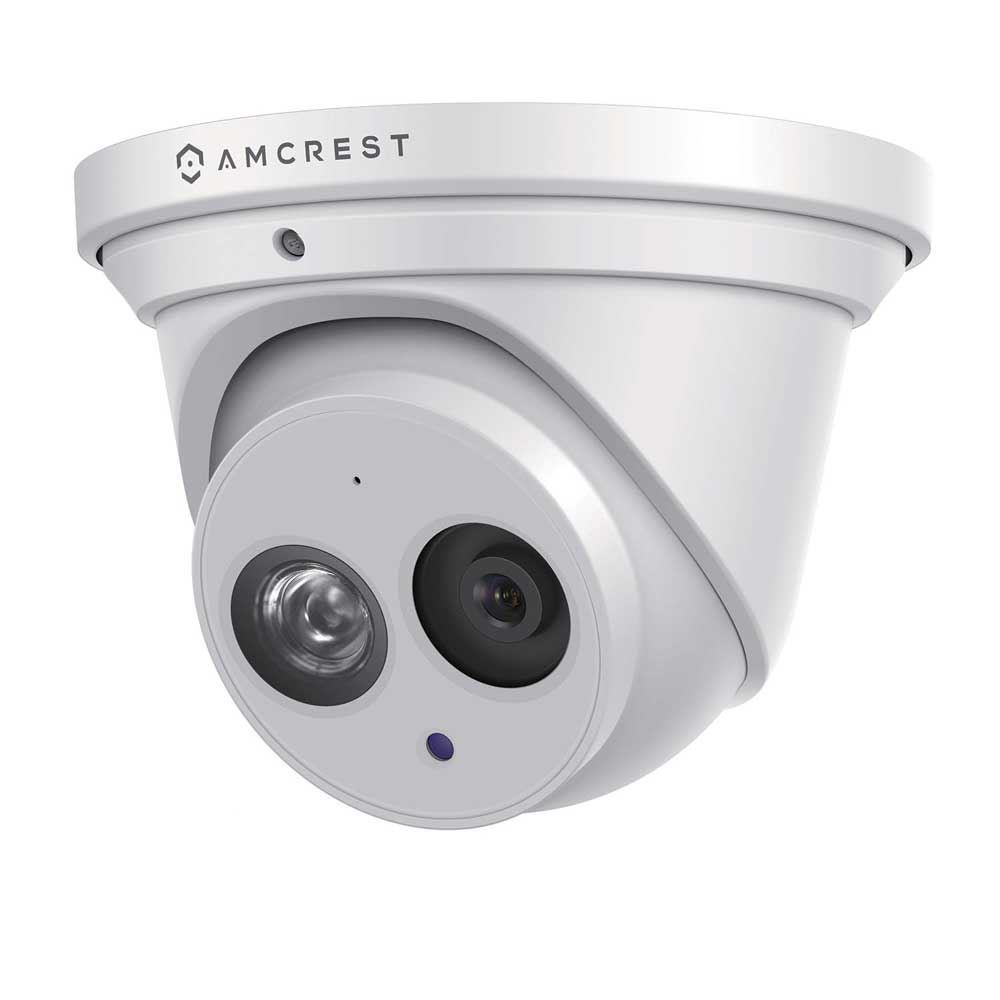 Amcrest 4k (8mp) Outdoor Security Ip Turret Poe Camera (white)