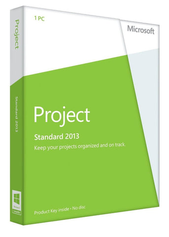 Microsoft Project 2013 Standard - Retail License - TechSupplyShop.com - 1
