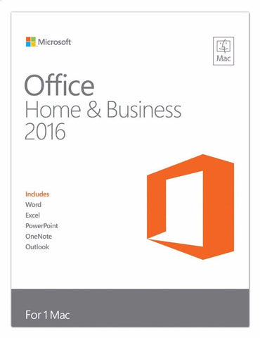 Microsoft Office for Mac Home and Business 2016 Retail Box - 1 User - TechSupplyShop.com - 1