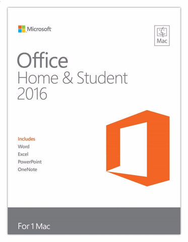 Microsoft Office for Mac Home and Student 2016 Retail Box - 1 User - TechSupplyShop.com - 1