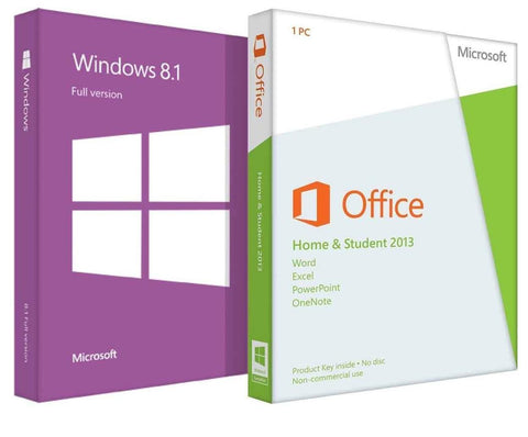 Microsoft Windows 8.1 with Home and Student 2013 - License - TechSupplyShop.com