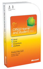 Microsoft Office Home and Student 2010 Product Key Card Box - TechSupplyShop.com - 1