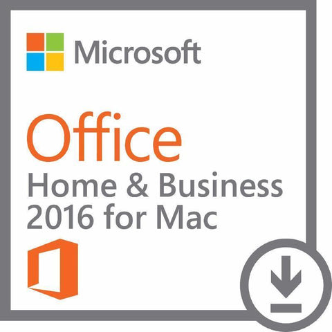 Microsoft Office for Mac Home and Business 2016 License | Microsoft
