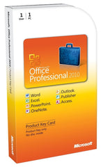 Microsoft Office 2010 Professional Product Keycard License - TechSupplyShop.com - 1