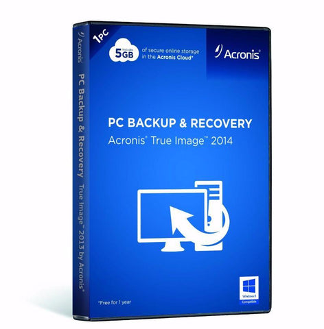 Acronis True Image HD 2014 - License - TechSupplyShop.com