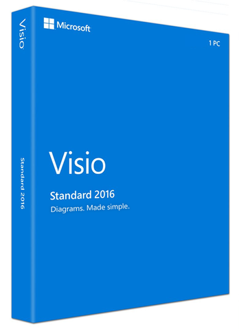 Microsoft Visio Standard 2016 - License - TechSupplyShop.com - 1