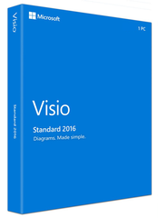 Microsoft Visio Standard 2016 License - TechSupplyShop.com