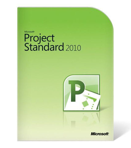Microsoft Project 2010 Standard AE - 1 PC - License - TechSupplyShop.com