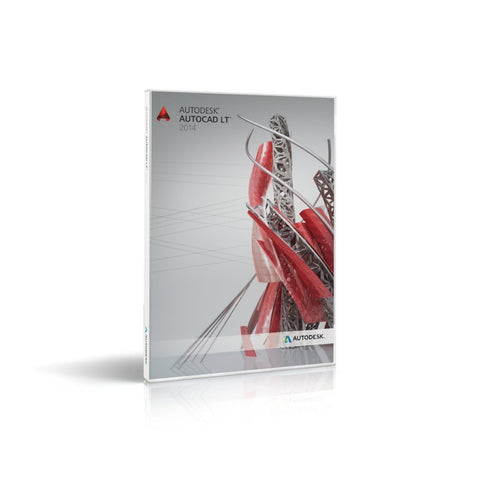 Autodesk AutoCad LT 2014 Retail Box for MAC - TechSupplyShop.com