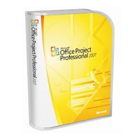 Microsoft Project Professional 2007 - OEM Disk - TechSupplyShop.com