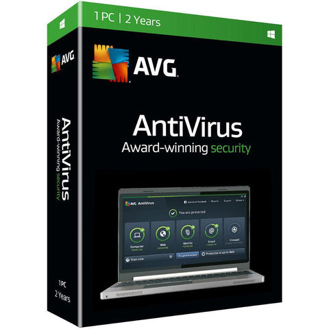 AVG Antivirus 2016 - 1 User 2 Years Download - TechSupplyShop.com