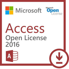 Microsoft Access 2016 - Open License - TechSupplyShop.com - 1