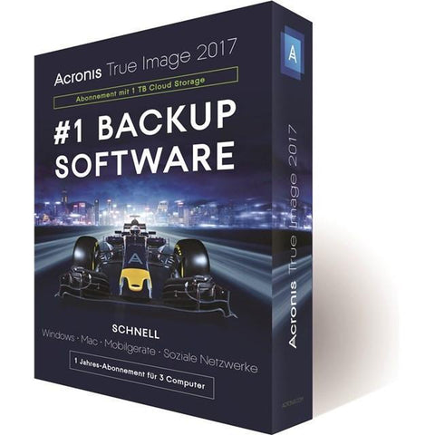 Acronis True Image 2017 1 Device DVD | ACRONIS