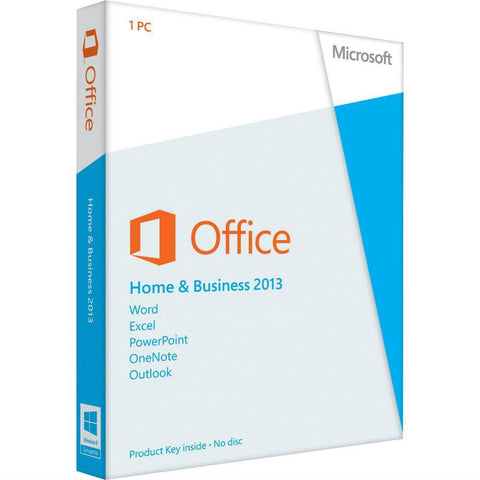 Microsoft Office Home & Business 2013 Product Key Card - TechSupplyShop.com - 1