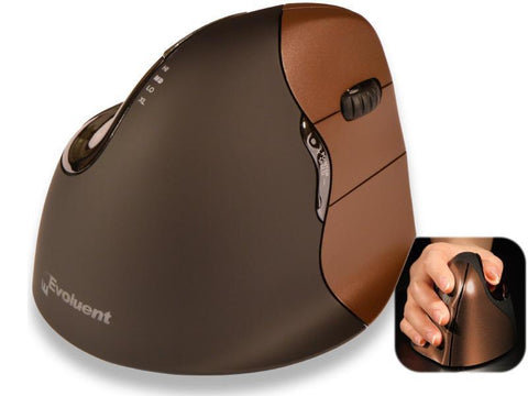 Evoluent Vertical Mouse Right Hand Wireless, Small - TechSupplyShop.com