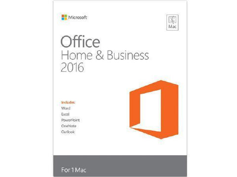 Microsoft Office Home and Business 2016 PC License Windows - TechSupplyShop.com