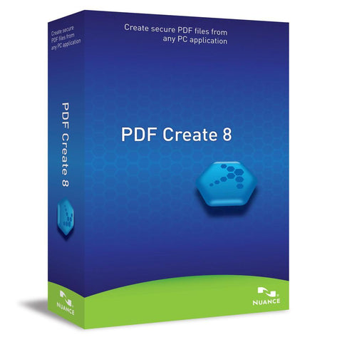 Nuance PDF Create 8 - TechSupplyShop.com
