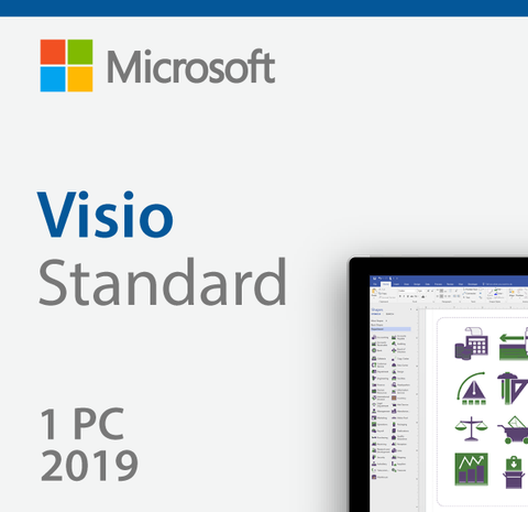 Microsoft Visio Standard 2019 - License - Download