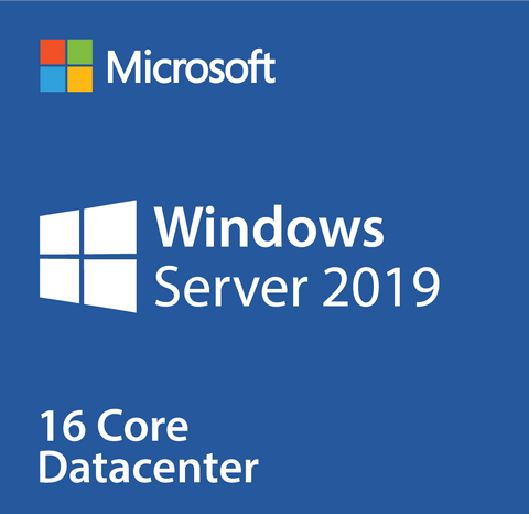 Microsoft Windows Server 2019 Datacenter OEI -16 Cores Instant License