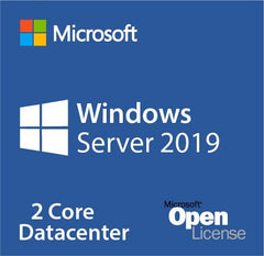Microsoft Windows Server 2019 Datacenter 2 Cores Open License
