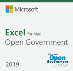Microsoft Excel 2019 For Mac Open Government