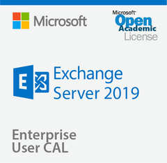 Microsoft Exchange Server 2019 Enterprise User CAL - Open Academic