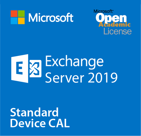 Microsoft Exchange Server 2019 Standard Device CAL - Open Academic