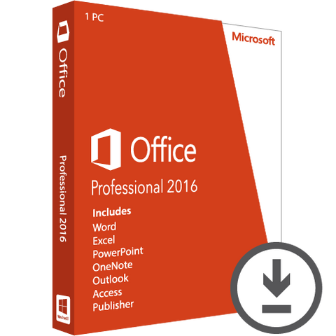 Microsoft Office Professional 2016 Download | Microsoft
