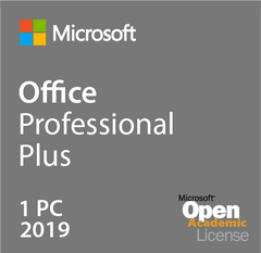 Microsoft Office Professional Plus 2019 - Open Academic