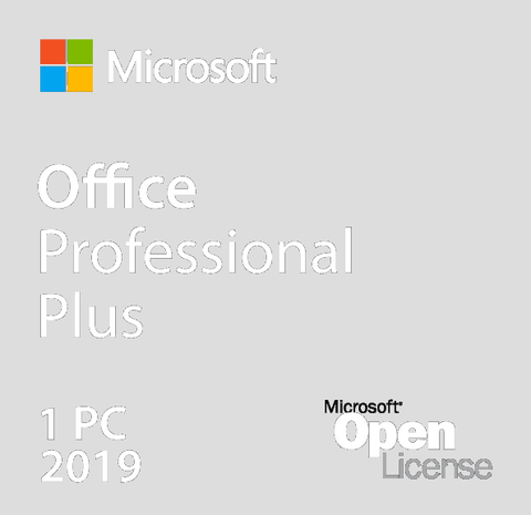Microsoft Office 2019 Professional Plus - Open License | Microsoft