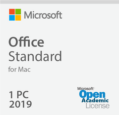Microsoft Office 2019 For Mac Standard - Open Academic