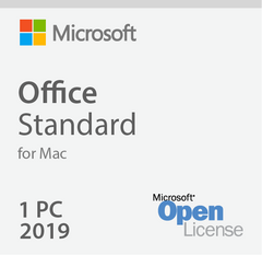 Microsoft Office 2019 For Mac Standard - Open License
