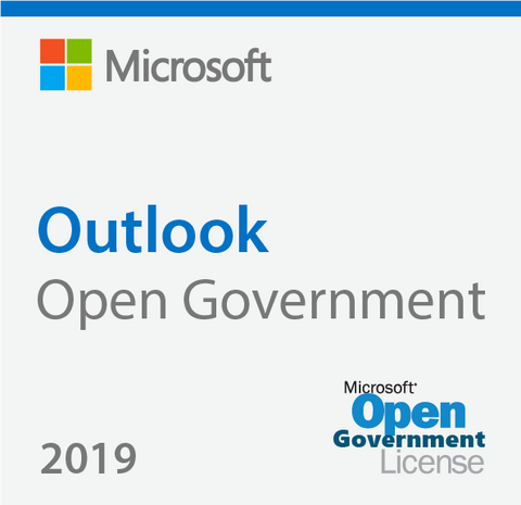 Microsoft Outlook 2019 Open Government