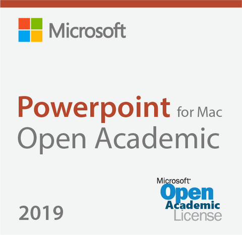 Microsoft Powerpoint 2019 For Mac Open Academic