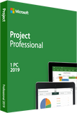 Microsoft Project 2019 Professional Download Medialess