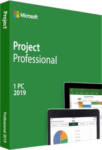 Microsoft Project Professional 2019 Retail Box