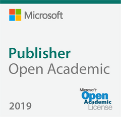 Microsoft Publisher 2019 Open Academic